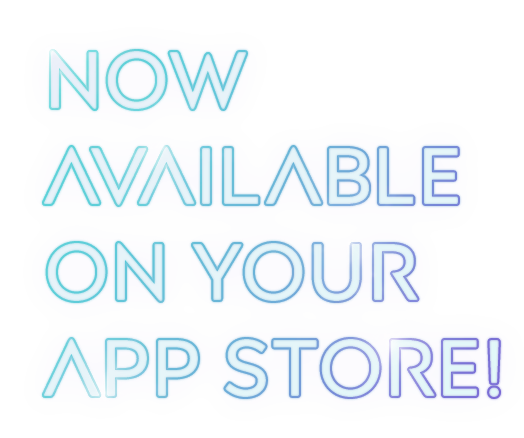 Now available on your app store